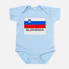 Slovenia Flag Merchandise Infant Creeper