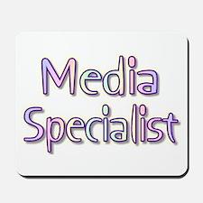 Media Specialist Rainbow Mousepad