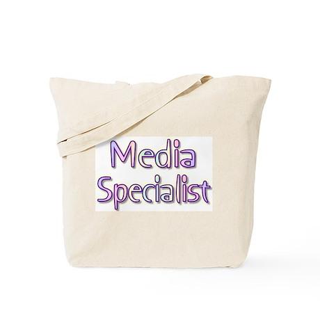 Media Specialist Rainbow Tote Bag