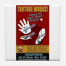 Torture Works Tile Coaster