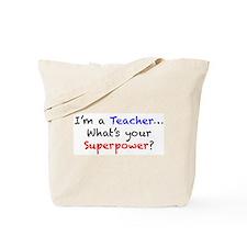 Cute Teachers Tote Bag