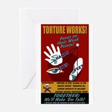 Torture Works Greeting Cards (10 Pk)