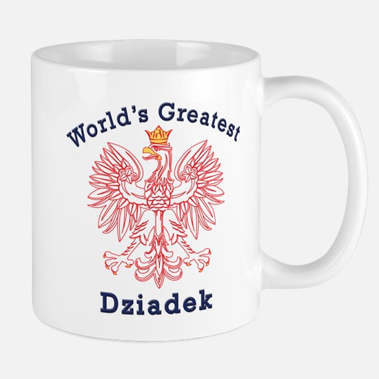 World's Greatest Dziadek Red Eagle Mug
