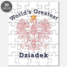 World's Greatest Dziadek Red Eagle Puzzle