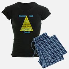 Bahamian Food Pyramid Pajamas