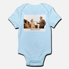 Don't forget the door Infant Bodysuit