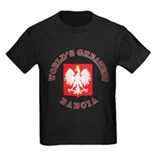 World's Greatest Babcia Crest T
