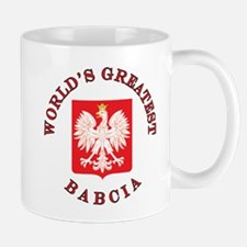 World's Greatest Babcia Crest Mug