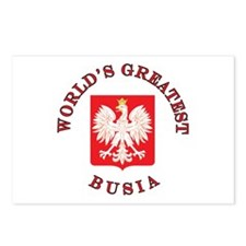 World's Greatest Busia Crest Postcards (Package of