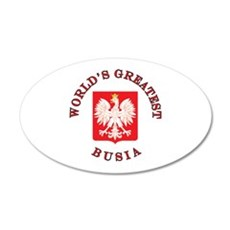 World's Greatest Busia Crest Wall Decal