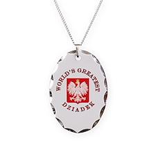 World's Greatest Dziadek Crest Necklace