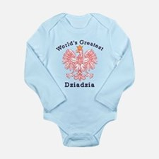 World's Greatest Dziadzia Crest Long Sleeve Infant