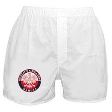 Round World's Greatest Babcia Boxer Shorts