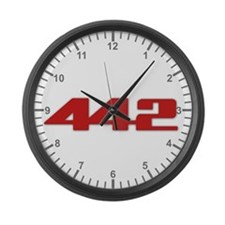 Olds 442 Large Wall Clock