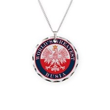 Round World's Greatest Busia Necklace