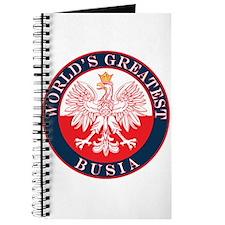 Round World's Greatest Busia Journal