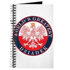 Round World's Greatest Dziadek Journal