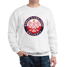 Round World's Greatest Dziadzia Sweatshirt