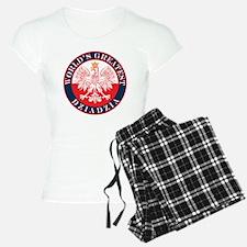 Round World's Greatest Dziadzia Pajamas