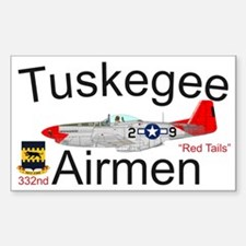 Tuskegee P-51 Mustang Decal