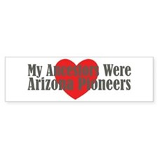 Arizona Ancestors Heart Bumper Sticker