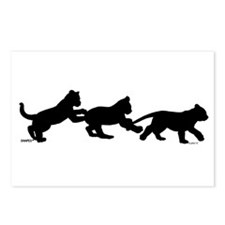 lion cub shapes Postcards (Package of 8)