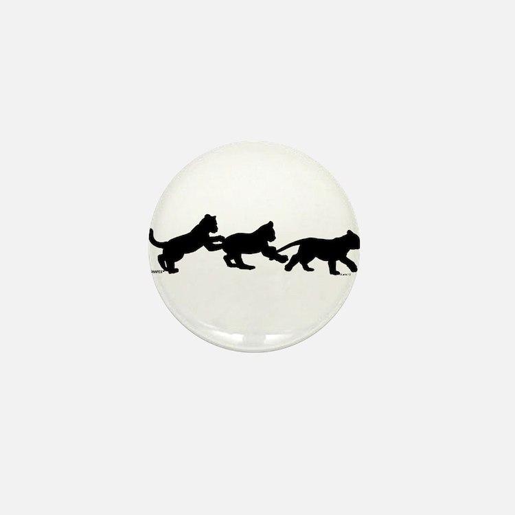 lion cub shapes Mini Button (10 pack)