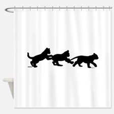 lion cub shapes Shower Curtain
