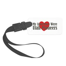 Utah Ancestors Heart Luggage Tag