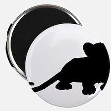 """Lion cub shape 2.25"""" Magnet (100 pack)"""
