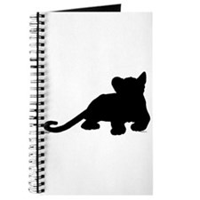 Lion cub shape Journal