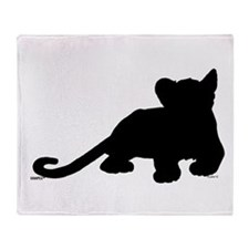 Lion cub shape Throw Blanket
