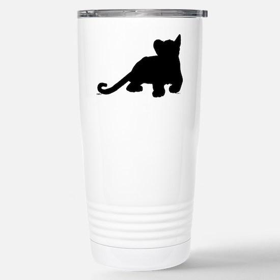 Lion cub shape Stainless Steel Travel Mug