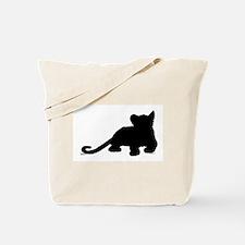 Lion cub shape Tote Bag