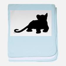 Lion cub shape baby blanket