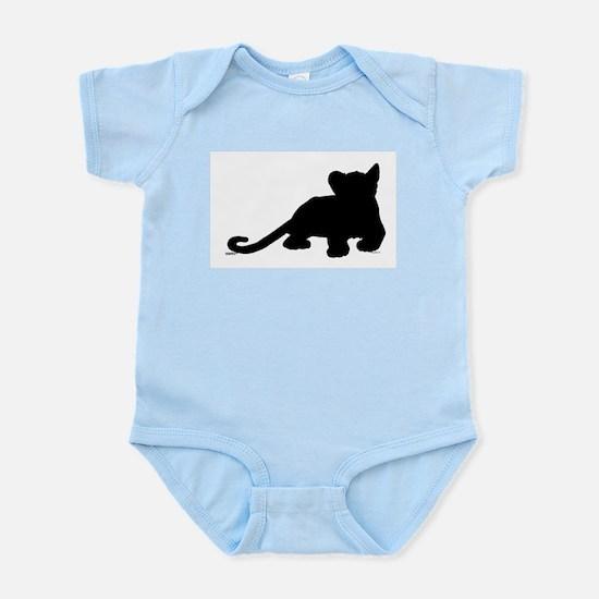 Lion cub shape Infant Bodysuit
