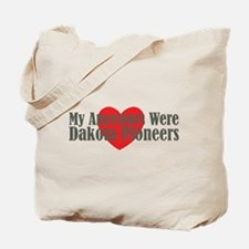 Dakota Ancestors Heart Tote Bag