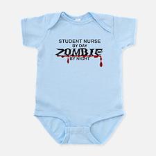 Student Nurse Zombie Infant Bodysuit