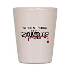 Student Nurse Zombie Shot Glass