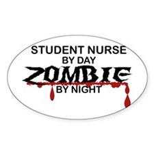 Student Nurse Zombie Decal