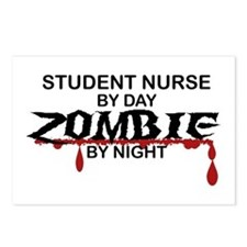 Student Nurse Zombie Postcards (Package of 8)
