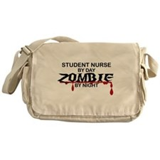 Student Nurse Zombie Messenger Bag