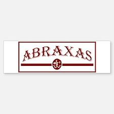 Abraxas Bumper Bumper Sticker