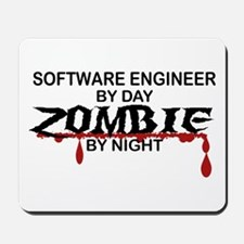 Software Engineer Zombie Mousepad
