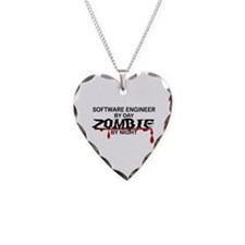 Software Engineer Zombie Necklace