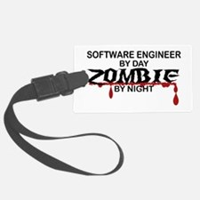 Software Engineer Zombie Luggage Tag