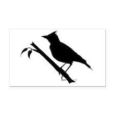 Lark bird Shape Rectangle Car Magnet