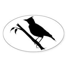 Lark bird Shape Decal