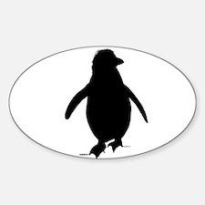 Penguin Shape Decal