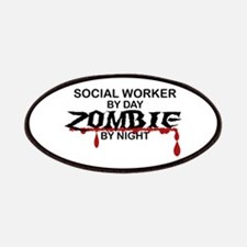 Social Worker Zombie Patches